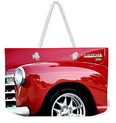 1948 Chevy Thriftmaster 3100 Weekender Tote Bag