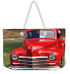 1948 Plymouth Coupe Weekender Tote Bag by AJ  Schibig