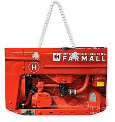1949 Farmall Tractor Weekender Tote Bag