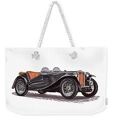 M G T C Weekender Tote Bag by Jack Pumphrey