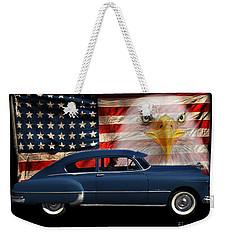 1949 Pontiac Tribute Roger Weekender Tote Bag by Peter Piatt