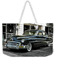 Weekender Tote Bag featuring the photograph 1950 Buick by Victor Montgomery