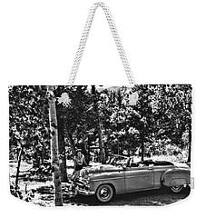 1950's Cadillac Weekender Tote Bag