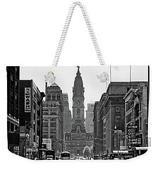 1950s Downtown Philadelphia Pa Usa Weekender Tote Bag