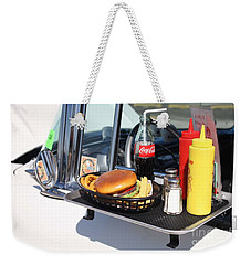 1950's Drive In Movie Snack Tray Weekender Tote Bag