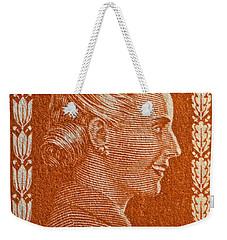 1952 Eva Peron Argentina Stamp Weekender Tote Bag by Bill Owen
