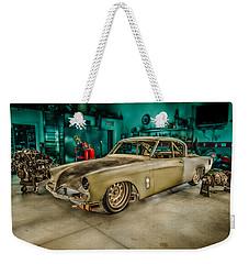 1953 Studebaker Hawk Weekender Tote Bag