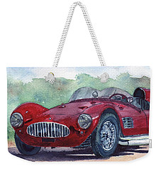 1954 Maserati A6 Gsc Tipo Mm Weekender Tote Bag