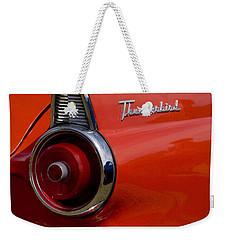 1955 427 Thunderbird Tail Light Weekender Tote Bag