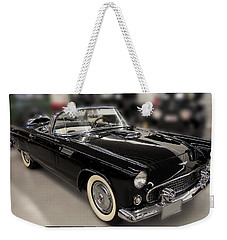 1955 Ford Thunderbird Convertible Weekender Tote Bag