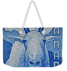 1956 Canada Mountain Goat Stamp Weekender Tote Bag