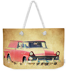 1956 Ford Sedan Delivery Weekender Tote Bag