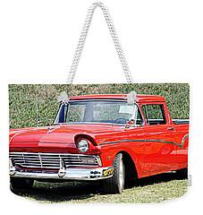 1957 Ford Ranchero Weekender Tote Bag
