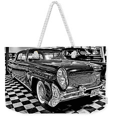 1958 Lincoln Continental Mk IIi Weekender Tote Bag by Michael Gordon