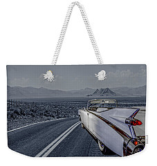 1959 Cadillac Eldorado Cool Night Weekender Tote Bag