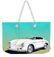 1959 Porsche Speedster Weekender Tote Bag by Jack Pumphrey