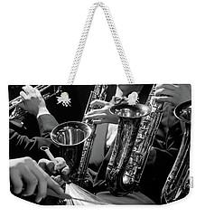 1960s Hands Of Anonymous Jazz Combo Weekender Tote Bag