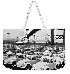 1960s Loading Dock With Parked Weekender Tote Bag