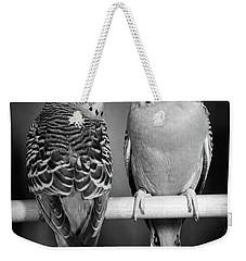 1960s Pair Of Parakeets Perched Weekender Tote Bag