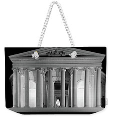 1960s Thomas Jefferson Memorial Lit Weekender Tote Bag