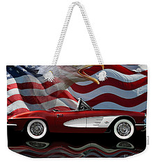 1961 Corvette Tribute Weekender Tote Bag