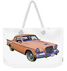 1961 Studebaker Hawk Coupe Weekender Tote Bag