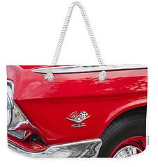 1962 Chevy Impala 409 Weekender Tote Bag