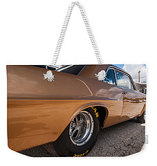 1963 Pontiac Lemans Race Car Weekender Tote Bag