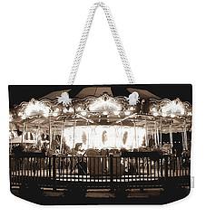1964 Allan Herschell Carousel Weekender Tote Bag