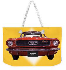 1964 Ford Mustang Weekender Tote Bag