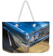 1964 Lincoln Continental Convertible  Weekender Tote Bag