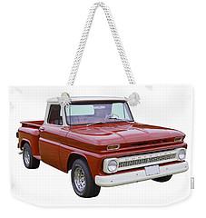 1965 Chevrolet Pickup Truck Weekender Tote Bag