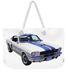 1965 Gt350 Mustang Muscle Car Weekender Tote Bag