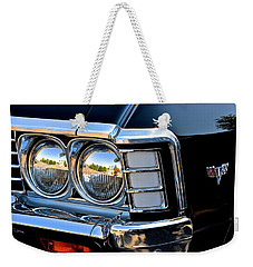 1967 Chevy Impala Front Detail Weekender Tote Bag