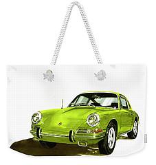Porsche 911 Sportscar Weekender Tote Bag by Jack Pumphrey