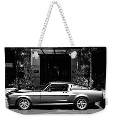 1967 Shelby Mustang B Weekender Tote Bag by Andrew Fare