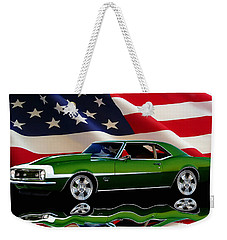 1968 Camaro Tribute Weekender Tote Bag