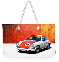 1968 Porsche 911 Weekender Tote Bag