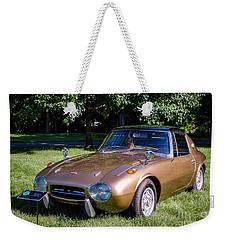 1968 Toyota Sports 800 Weekender Tote Bag