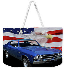 1969 Chevelle Tribute Weekender Tote Bag