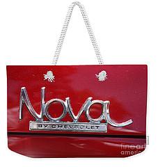 1970 Chevy Nova Logo Weekender Tote Bag