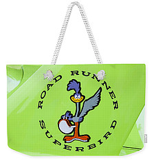 1970 Plymouth Superbird Roadrunner Weekender Tote Bag