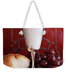 1970s Silver Communion Chalice Wine Weekender Tote Bag