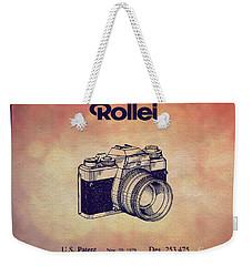 1979 Rollei Camera Patent Art 1 Weekender Tote Bag