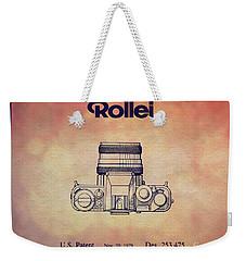 1979 Rollei Camera Patent Art 2 Weekender Tote Bag