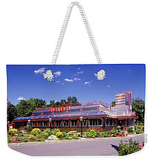 1990s Classic Art Deco Style Diner Hyde Weekender Tote Bag