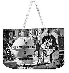 1996 Yankees Float Weekender Tote Bag by John Rizzuto