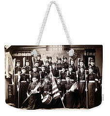 19th C. Female Cadets Armed With Brooms Weekender Tote Bag by Historic Image