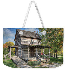 19th Century Cabin Weekender Tote Bag