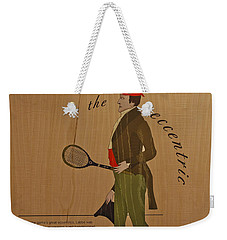 19th Century Tennis Player 2 Weekender Tote Bag by Maj Seda